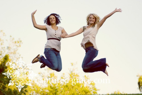 sisters, jumping, family, sibilings, Northern, CA. Gilroy